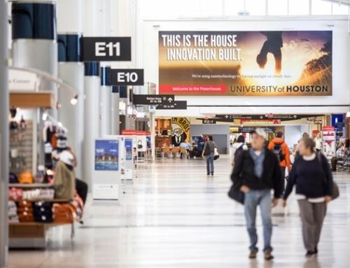 Những điều cơ bản về loại hình quảng cáo tại sân bay.
