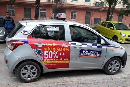 Chiến dịch quảng cáo trên taxi của Lock&Lock