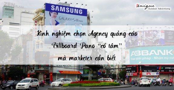 kinh nghiệm quảng cáo billboard