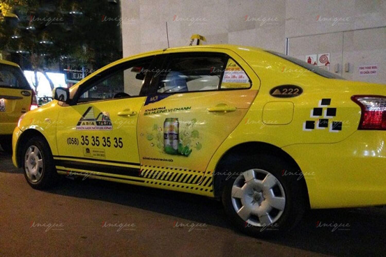 quảng cáo taxi asia