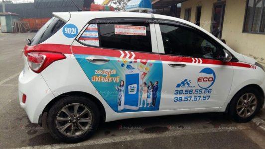 quảng cáo taxi tại phú thọ