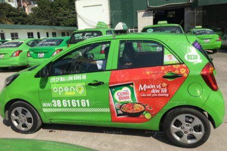quảng cáo taxi tại nghệ an