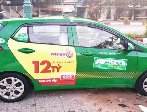 Quảng cáo trên xe taxi tại Bạc Liêu, có hay không?