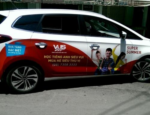 Những ưu điểm của hình thức quảng cáo trên ô tô cá nhân